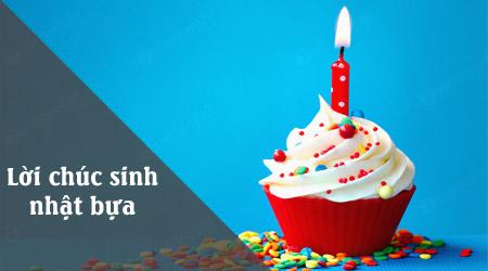 Lời chúc sinh nhật bá đạo