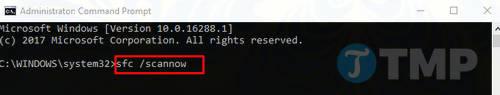 Sửa lỗi ISDone.dll trên Windows 10 7