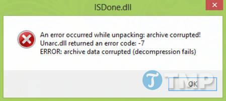 Sửa lỗi ISDone.dll trên Windows 10