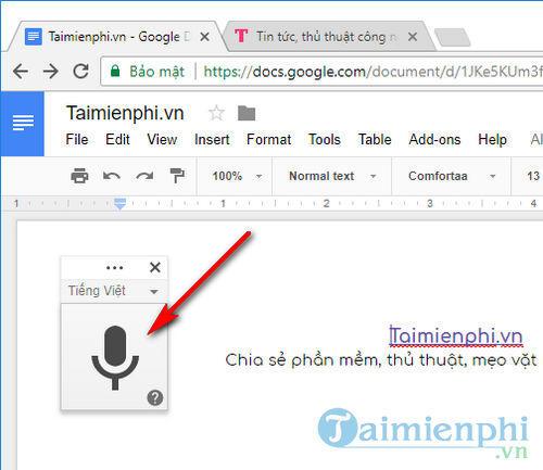 cach soan van ban bang giong noi bang google docs va google dich 5