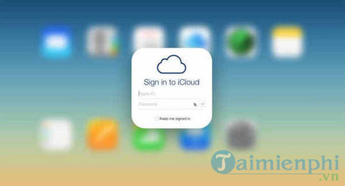 sua loi icloud address is not registered with icloud