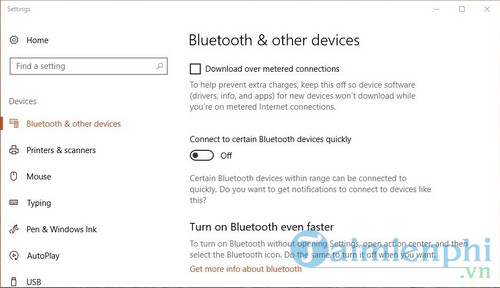 microsoft bo sung bluetooth quick pair tren windows 10