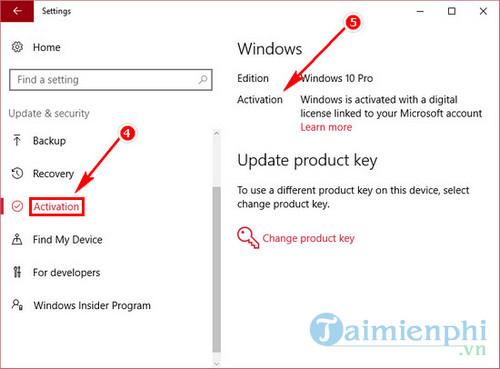 Cách kiểm tra Windows 10 đã Active chưa 4