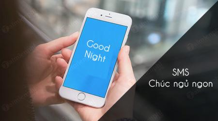 Tin nhắn SMS chúc ngủ ngon