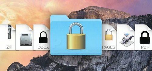 dat mat khau thu muc file tren macbook