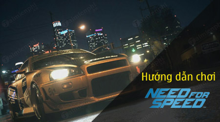 cach choi need for speed tren may tinh