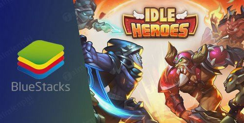 cach tai va choi idle heroes tren bluestacks