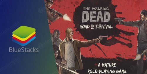 cach cai va choi the walking dead road to survival tren may tinh