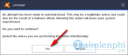 Cách gỡ Avast Free Antivirus khỏi máy tính 4