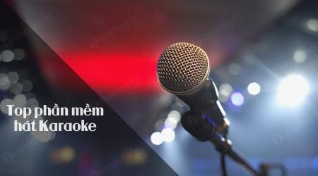 giai tri voi 5 phan mem hat karaoke tren may tinh
