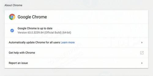 google phat hanh chrome 63 cho linux mac va windows