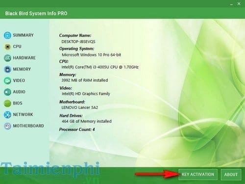giveaway black bird system info pro kiem tra phan cung may tinh 3