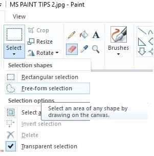 Tổng hợp tất cả các thủ thuật hay trên Paint
