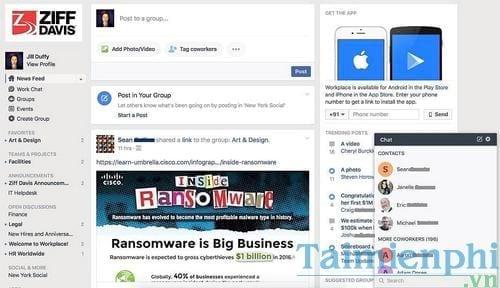 Facebook Workplace là gì? tìm hiểu chi phí, cách sử dụng 2