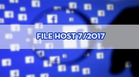 File Host vào Facebook tháng 7/2017, đăng nhập Facebook khi bị chặn
