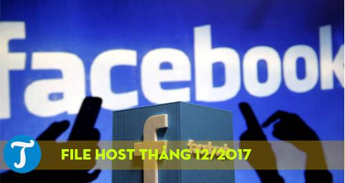 File Host vào Facebook tháng 12/2017 nhanh và mới nhất, IP Host VNPT, FPT,  VIETTEL