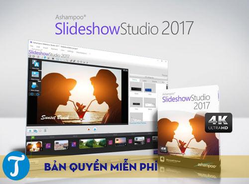 ban quyen mien phi ashampoo slideshow studio 2017