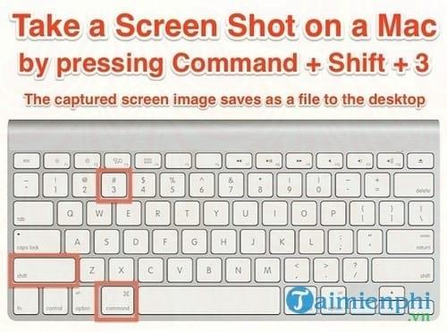 Cách chụp ảnh màn hình Macbook 0