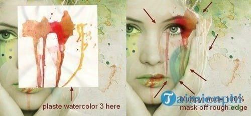 cach tao hieu ung watercolor cho anh bang photoshop 33
