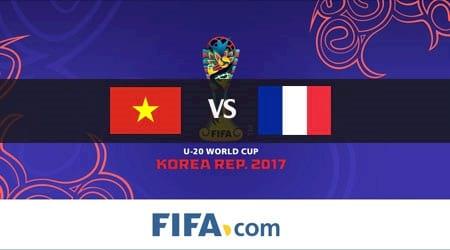 truc tiep u20 viet nam vs u20 phap ngay 25 5 world cup, link sopcast