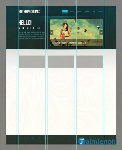 cach tao mot giao dien web chuyen nghiep bang photoshop 63