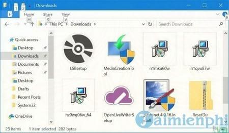 tu dong xoa cac file trong thu muc downloads tren windows 10