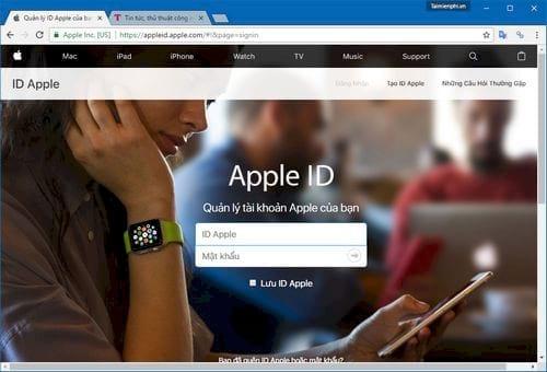 Đổi mật khẩu iCloud, thay password tài khoản iCloud cực nhanh