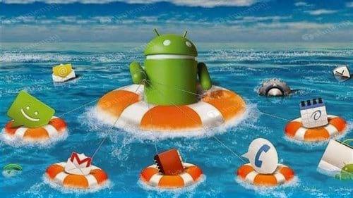 thiet lap tu dong sao luu toan bo thiet bi android
