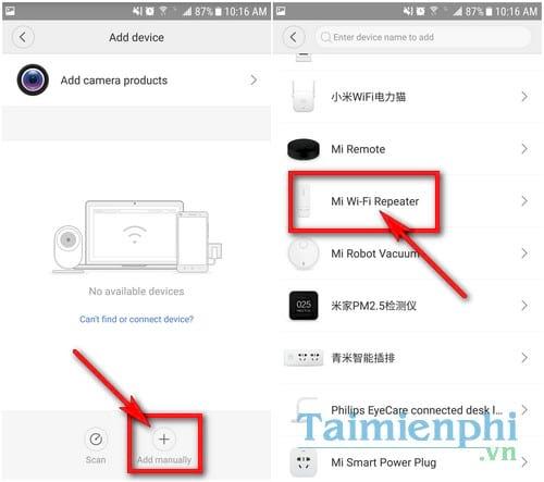 Hướng dẫn cách kết nối bộ khuếch đại sóng WiFi Xiaomi Mi WiFi Repeater