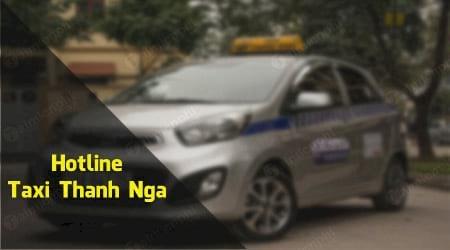 Số điện thoại taxi Thanh Nga Hà Nội 4 chỗ, 7 chỗ