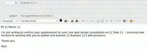 Cách trộn thư (Mail Merge) với Thunderbird và LibreOffice Calc