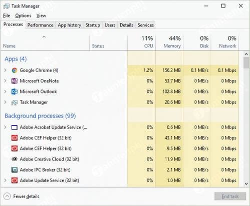 task manager la gi cach su dung task manager