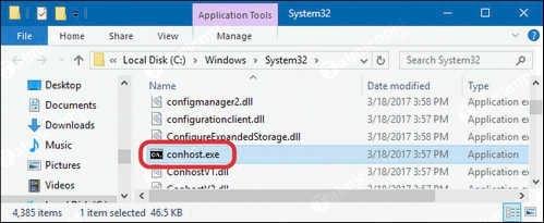Conhost.exe là gì? Tại sao lại chạy trên máy tính? 7