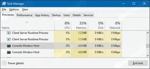 Conhost.exe là gì? Tại sao lại chạy trên máy tính? 0
