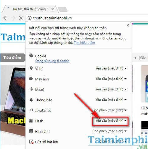 Sửa lỗi không thể tải Plugin trên Chrome, Plugin Flash