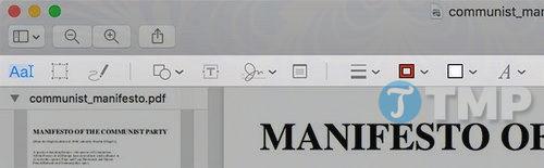 Tạo, ghép, chia nhỏ và chỉnh sửa file PDF trên Mac