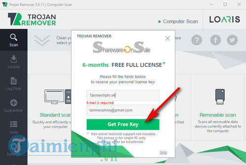 giveaway you license free loaris trojan remover kind of read to your computer 3
