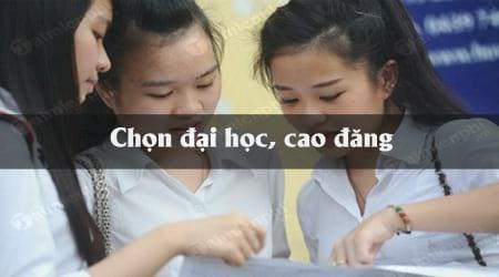 19 22 diem thpt nen chon dai hoc cao dang nao