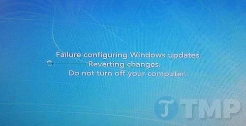 phai lam gi khi windows update that bai