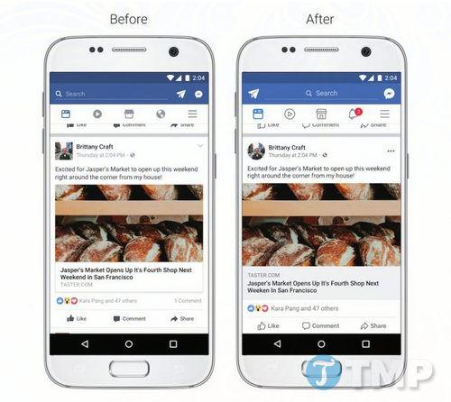 facebook thay doi giao dien news feed moi