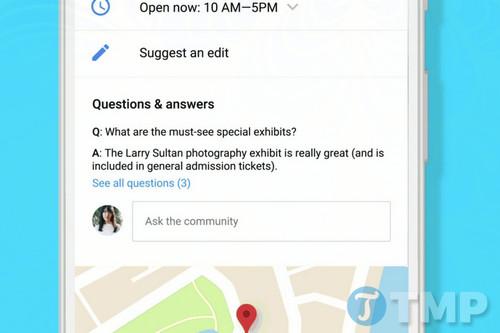 google bo sung tinh nang q a cho google maps