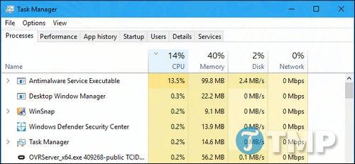 Antimalware Service Executable là gì? Tại sao process này lại chạy trên máy tính Windows?