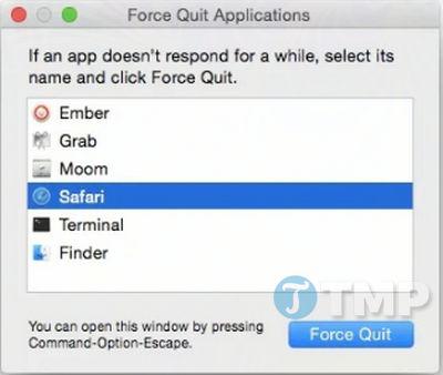 Macbook bị treo, cách xử lý như thế nào