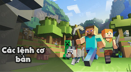 lenh minecraft co ban