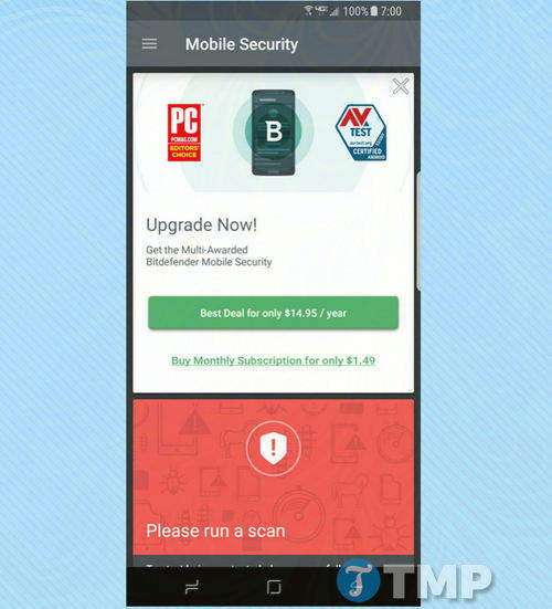 bitdefender mobile security 2017 ung dung diet virus hang dau cho android