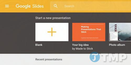 google slides bo sung add on cua ben thu 3 va tich hop google keep