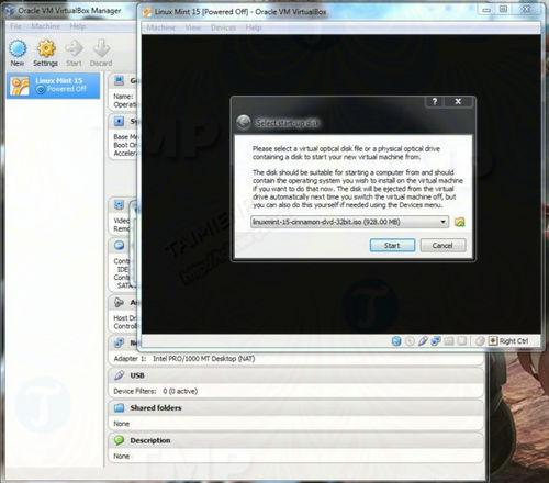 Cách cài Linux lên máy tính sử dụng VirtualBox
