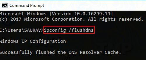 Sửa lỗi Server DNS Address Could Not Be Found trên Chrome 8
