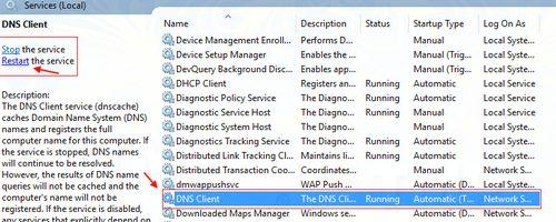 Sửa lỗi Server DNS Address Could Not Be Found trên Chrome 9