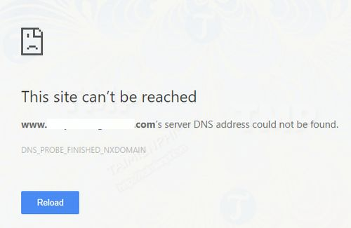 Sửa lỗi Server DNS Address Could Not Be Found trên Chrome